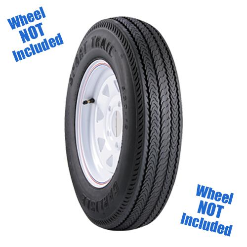Carlisle Sport Trail Trailer Tire Size: ST225/90D16