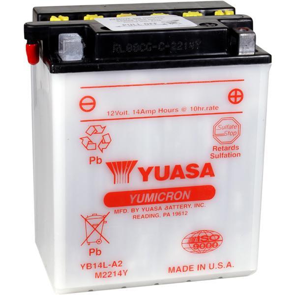 Yuasa Yumicron Battery YB12C-A YUAM222CA