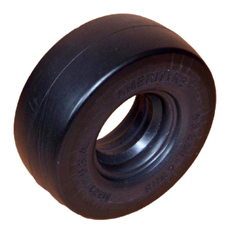 Amerityre Solid Mower Smooth 8-3.00-4 2.50in. Yard - Lawn Tire