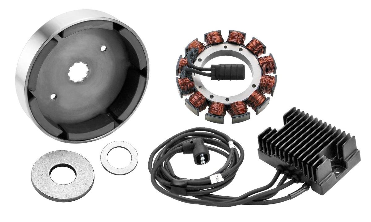 Compu-Fire Charging System For 81-99 Carbureted H-D Evolution Motorcycle Street - 55520