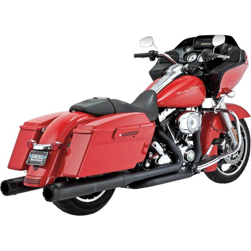 Vance & Hines 4 1/2in. Hi-Output Slip-On - Chrome Motorcycle Street - 16465
