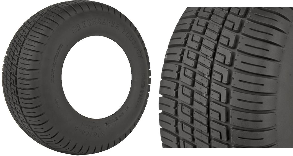 GBC Greensaver Plus GT (DOT) 20-10.00R10 4 Ply Golf Cart Tire