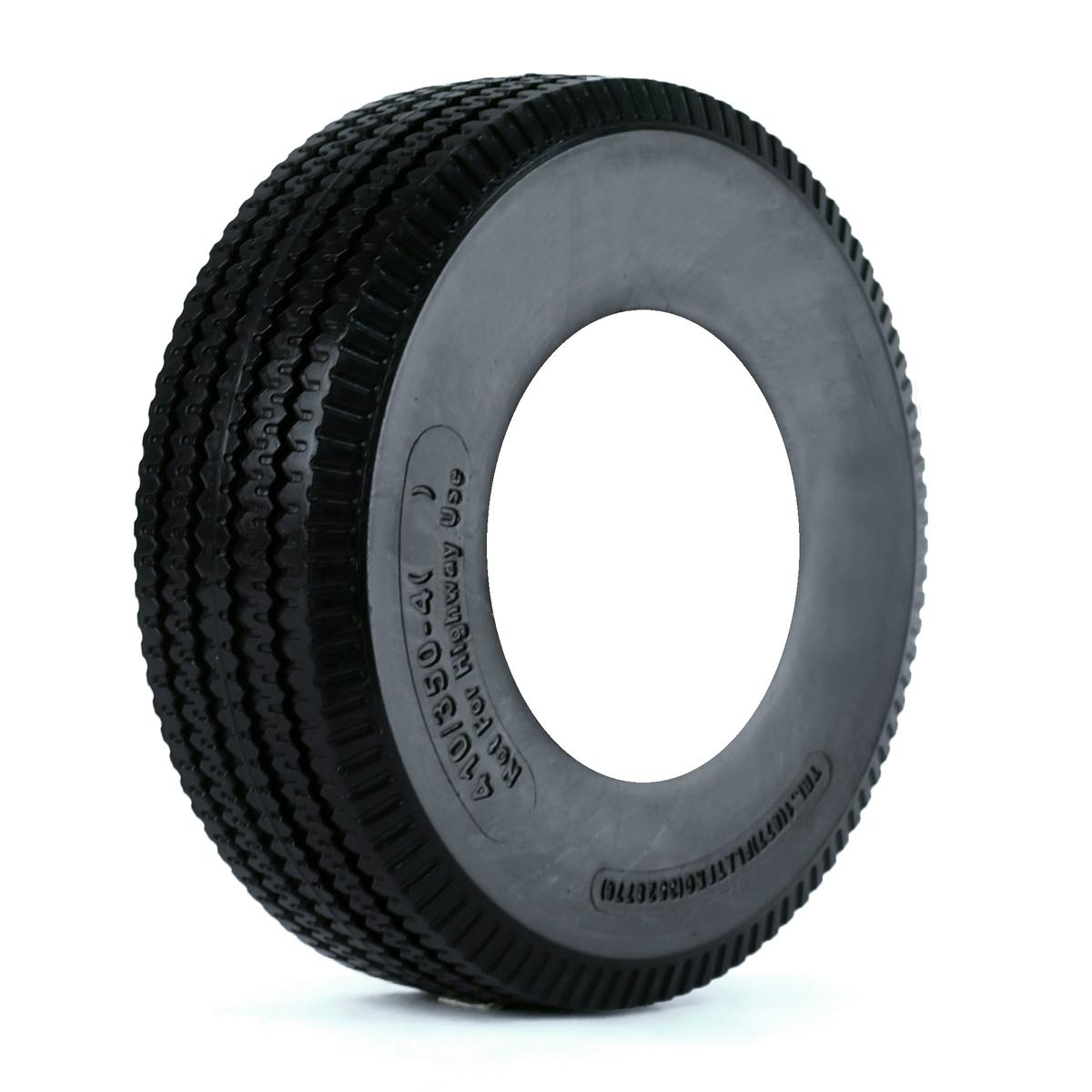 Kenda Flat Free Smooth Crosshatch Tire Only 11-6.00-6 Yard - Lawn Tire
