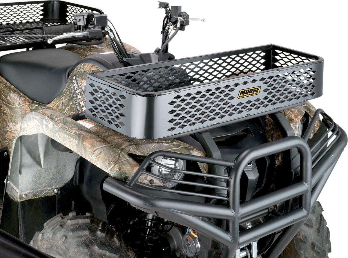 Moose Universal Front Rubber Coated Mesh Rack ATV - UTV - M4880