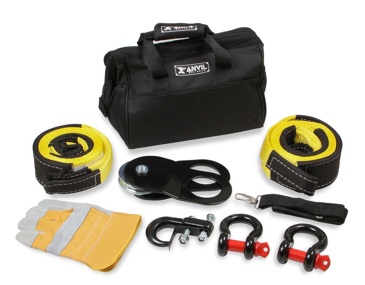 Anvil 8 Piece Winch Accessory Kit ATV - UTV - 1020AOR