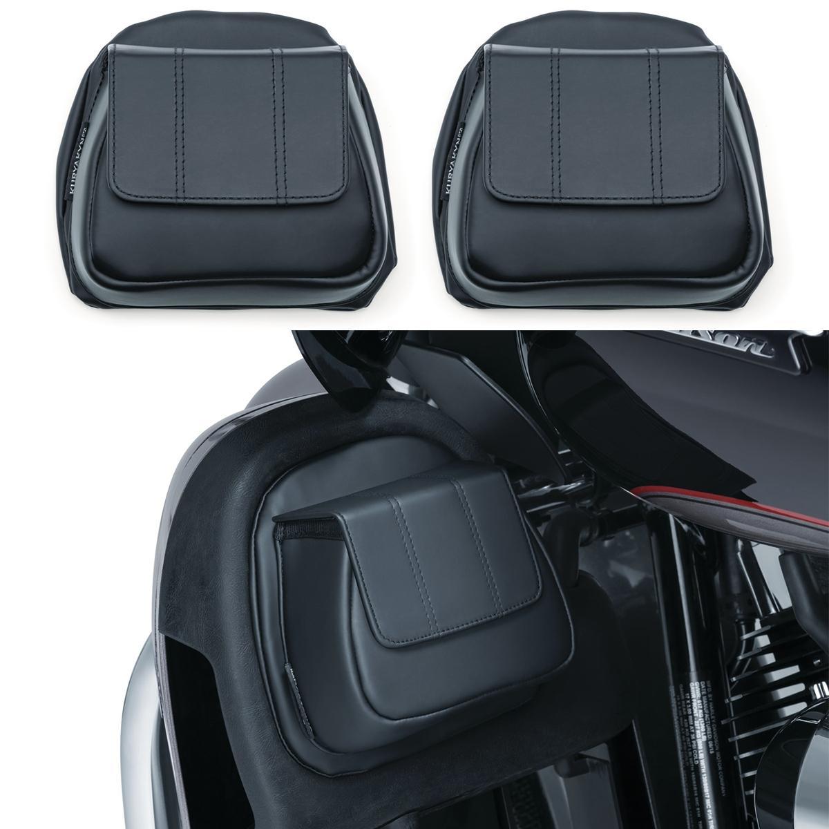 Kuryakyn Fairing Lower Door Pocket Black 5208