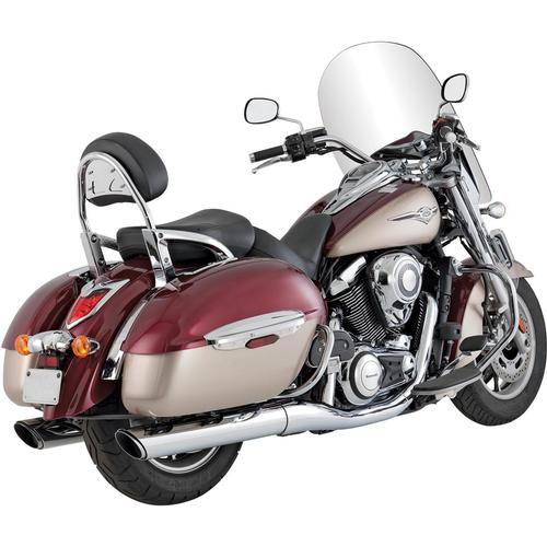 Vance & Hines Twin Slash Round Slip-On Motorcycle Street - 18371