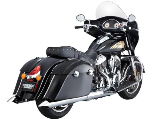 Vance & Hines Turndown Slip-Ons - Chrome Motorcycle Street - 18531