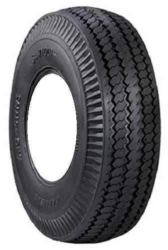 Rubber Master S378 Sawtooth Rib (NHS) 4.10-4 4 Ply Yard - Lawn Tire