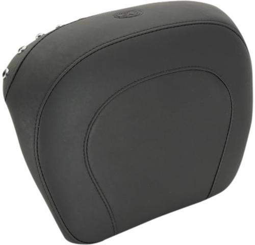 MUSTANG PASSENGER PAD - SMOOTH STYLE WITH BLACK STUDS BACKRESTS