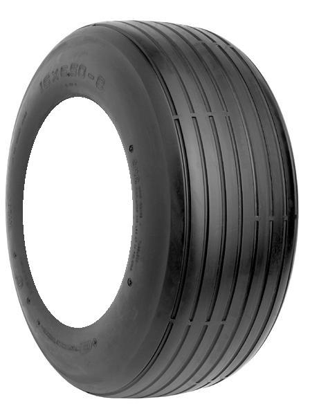 Rubber Master S317 Straight Rib 18-8.50-8 4 Ply Yard - Lawn Tire