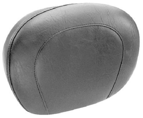 Mustang Passenger Backrest Pad - Smooth - 14in Motorcycle Street - 76572