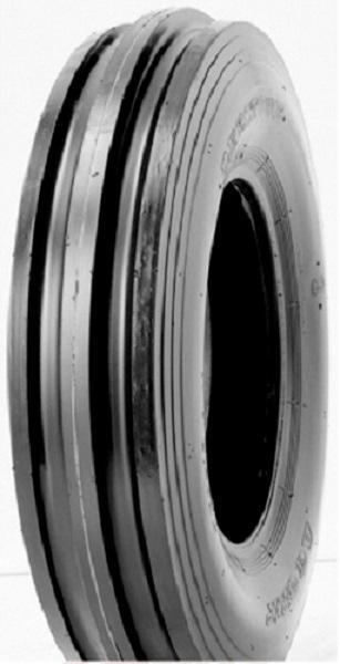 Deestone Tri Rib 3.50-6 4 Ply Tractor Tire