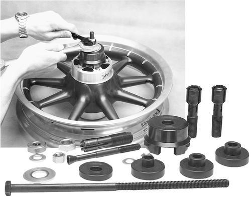 JIMS Sealed Wheel Bearing Remover/Installer Tool Kit - 939