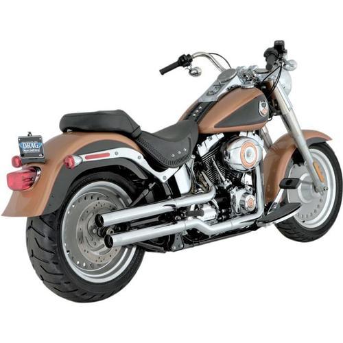 Vance & Hines Straightshots Hs Slip-Ons - Chrome Motorcycle Street - 16827