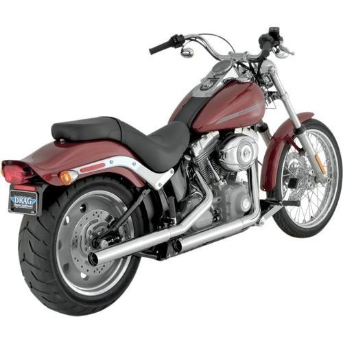 Vance & Hines Straightshots Hs Slip-Ons - Chrome Motorcycle Street - 16831