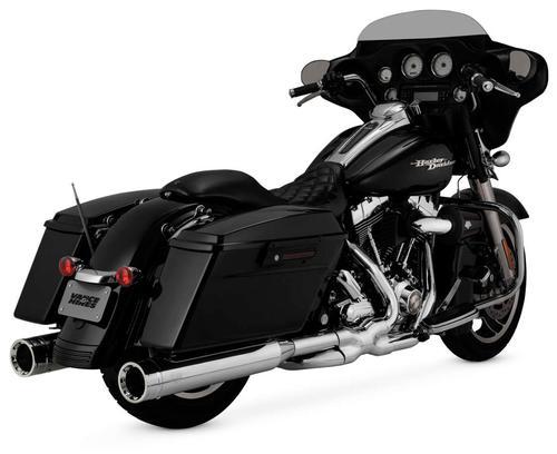 Vance & Hines Oversized 450 Destroyer Slip-Ons - Chrome Motorcycle Street - 16553