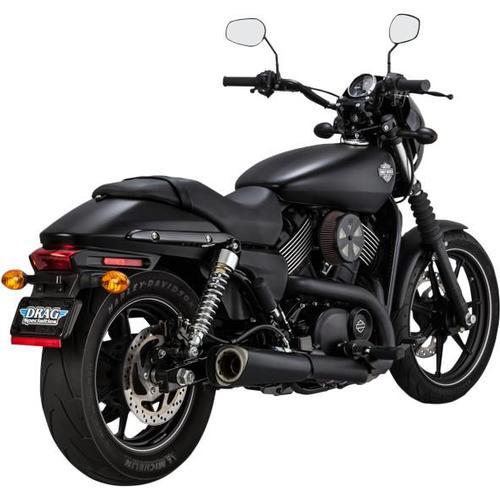 Vance & Hines Competition Series Slip-Ons - Matte Black Motorcycle Street - 47937