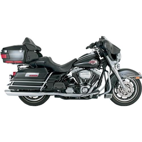Vance & Hines Dresser Duals Head Pipes - Chrome Motorcycle Street - 16799