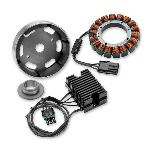 Compu-Fire 3 Phase Charging System 81-99 Big Twin Harley W/ Motorcycle Street - 55560