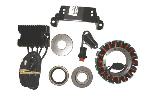 Compu-Fire 3 Phase Charging System With Non-Vented Rotor For 1981 To 1999 EVO Motorcycle Street - 55570