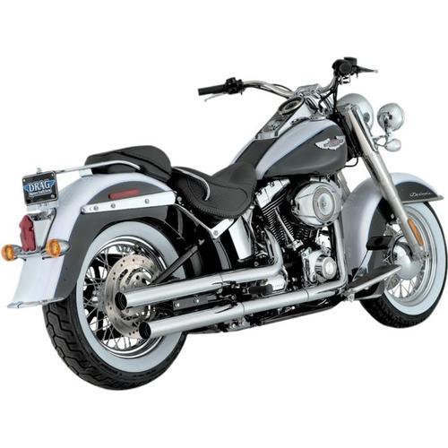 Vance & Hines Straightshots Hs Slip-Ons - Chrome Motorcycle Street - 16833