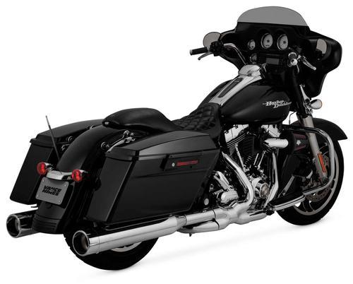Vance & Hines Oversized 450 Raider Slip-Ons - Chrome Motorcycle Street - 16557