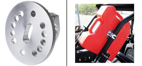 Joker Machine Silver Gasoline Pack Mount ATV - UTV - 60-440-4