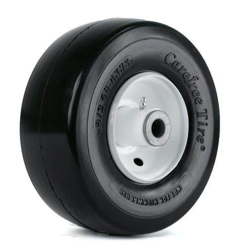 "Kenda Flat Free Smooth 7.25"" Hub And 3/4"" Tapered RB Bearing 13-6.50-6 Wheel/Tire Assembly Yard - Lawn Tire"