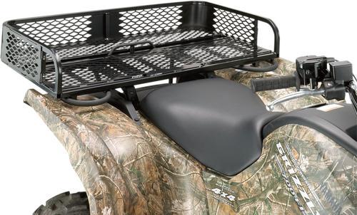 Moose Universal Rear Rubber Coated Mesh Rack ATV - UTV - M4879