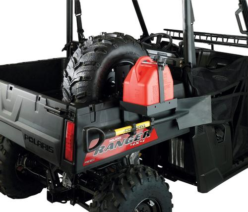 Moose Fuel Can & Spare Tire Carrier With Tool Hooks Polaris ATV - UTV - R-3015-ST-G