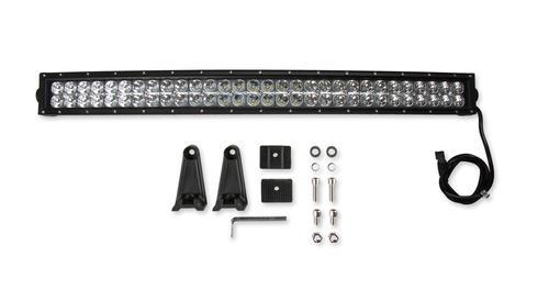 Bright Earth 30& LED Curved Double Row Light Bar With Chrome Reflector ATV - UTV - CLB30-BEL