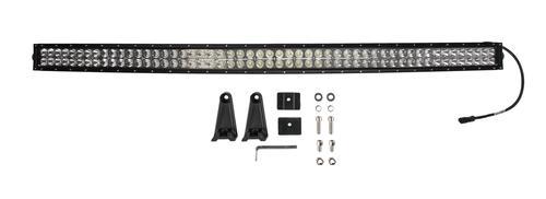 Bright Earth 54& LED Curved Double Row Light Bar With Chrome Reflector ATV - UTV - CLB54-BEL