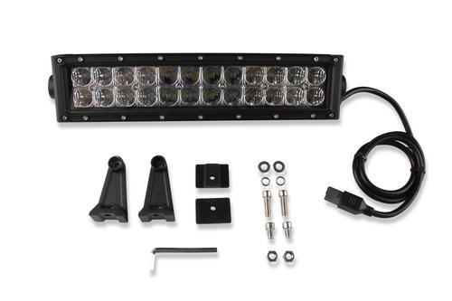 Bright Earth 15& LED Straight Double Row Light Bar With Chrome Reflector ATV - UTV - LB12-BEL