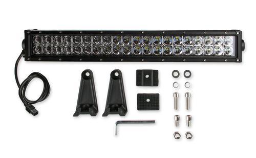 Bright Earth 20& LED Straight Double Row Light Bar With Chrome Reflector ATV - UTV - LB20-BEL