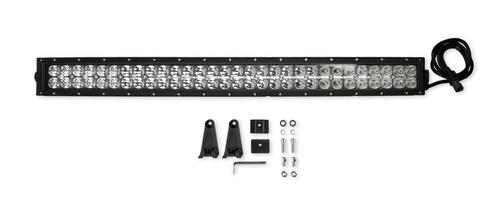 Bright Earth 30& LED Straight Double Row Light Bar With Chrome Reflector ATV - UTV - LB30-BEL