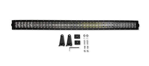 Bright Earth 40& LED Straight Double Row Light Bar With Chrome Reflector ATV - UTV - LB40-BEL