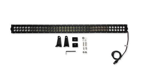 Bright Earth 40& LED Straight Double Row Light Bar With Black Reflector ATV - UTV - LB40BK-BEL