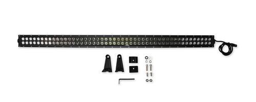 Bright Earth 50& LED Straight Double Row Light Bar With Black Reflector ATV - UTV - LB50BK-BEL
