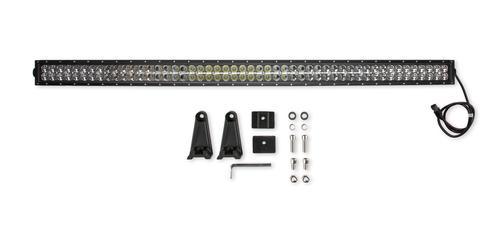 Bright Earth 52& LED Straight Double Row Light Bar With Chrome Reflector ATV - UTV - LB52-BEL