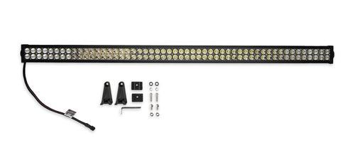 Bright Earth 54& LED Straight Double Row Light Bar With Chrome Reflector ATV - UTV - LB54-BEL