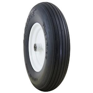 Carlisle Ribbed Flat Free Solid Yard - Lawn Tires